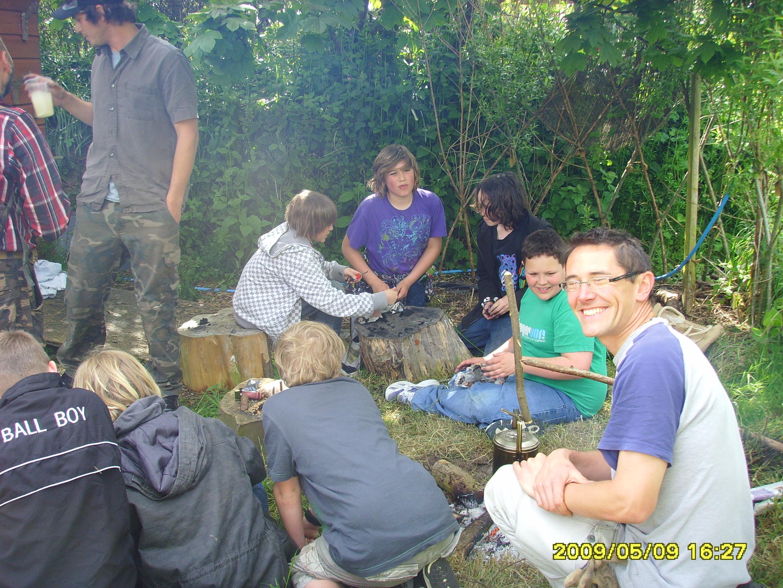 Bushcraft Workshop at Plan-It Earth