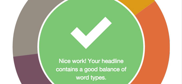 Write better headlines: free headline analyzer from CoSchedule