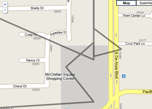 GPS Trace