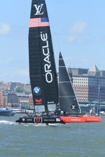 Oracle foiling upwind