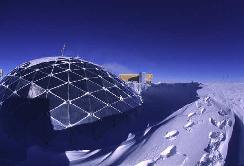 Antarctica Research Station Dome