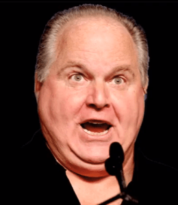 Rush Limbaugh, leader of the Republican Party, fires Mitt Romney