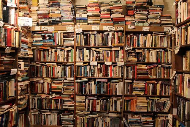 A bunch of suddenly cheap books
