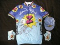 1992 Z jersey signed and worn by Greg in the Tour de Suisse