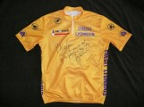 1991 Tour de France signed yellow jersey