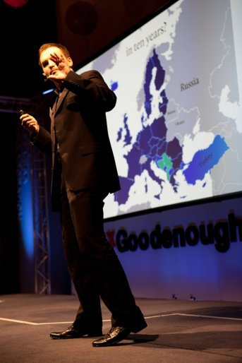 Elaborating on civilzation theory at TEDx Goodenough College in London (2011)
