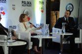 Moderating opening debate of Congress Polska Wielki Projekt (2016)