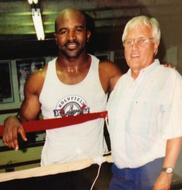Heavyweight champ Evander Holyfield & Uncle Rodge.