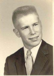 1957 Larry Lhamon senior picture