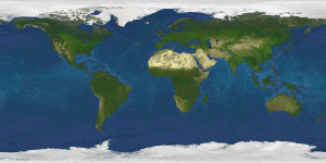 An image map used for the globe animation.