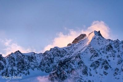 Le sommet de la Montagne des Agneaux
