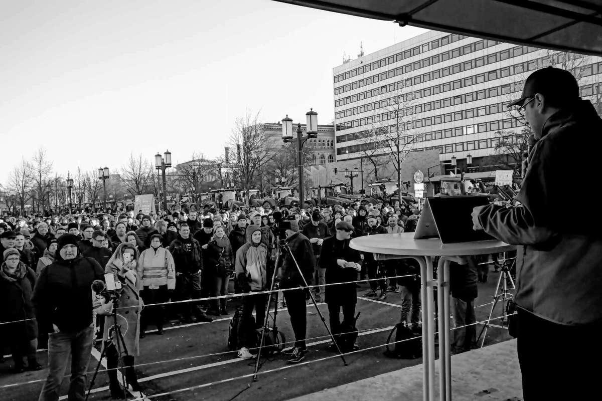 Kundgebung in Berlin am 17.01.2020