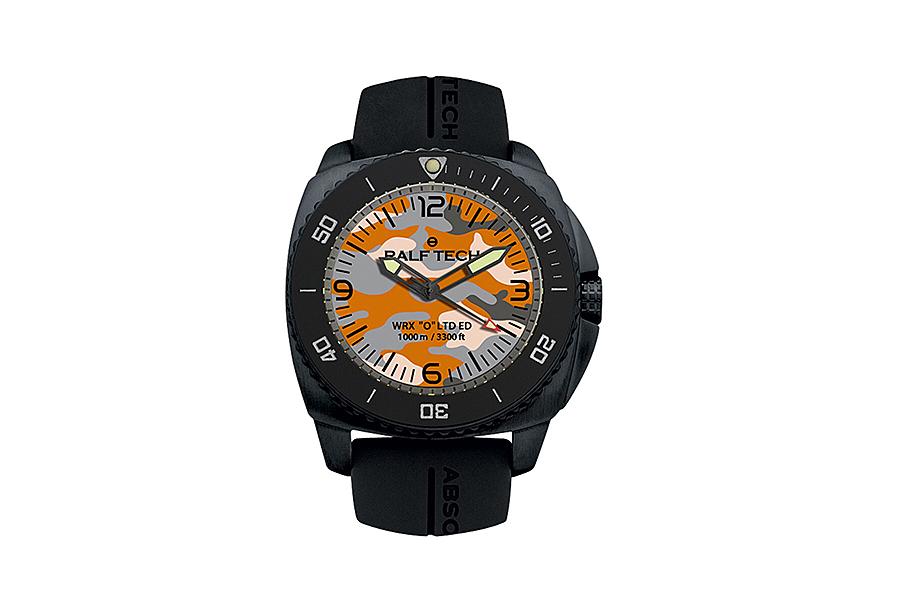 """BNIB RALF TECH (Swiss) WRX """"A"""" Ref. WRX 1007 """"URBAN CAMO"""" Diver Watch """"O"""" Hybrid RTH Cal. 002"""