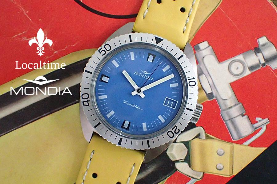 1960's MONDIA (Zenith Movado Le Locle SA) 'Friendship' Field Watch – AS Cal. 1950/51