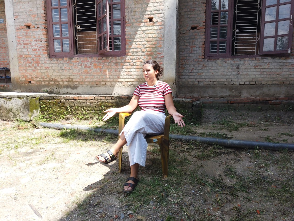 1st Nepal Video for volunteer society Nepal , Volunteer Profile Virginia Melodia