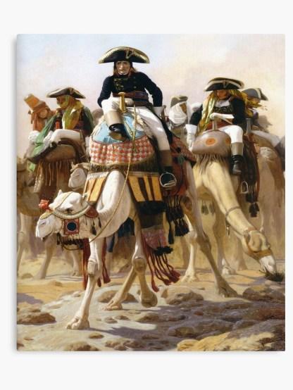 Le général Bonaparte avec son état-major en Égypte-Jean Léon Gérôme-gregory-roose-chroniques-remplacisme-global-grand-remplacement