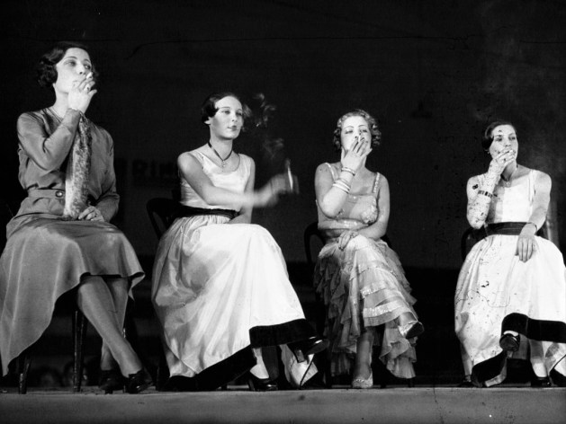 Congrès des fumeurs: concours du plus beau geste (1932).