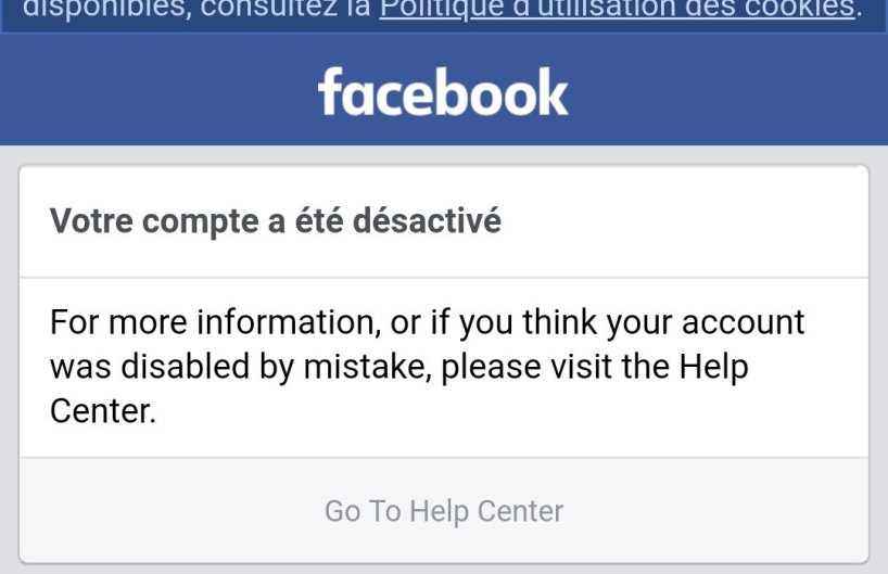suppresion compte facebook censure gregory roose adoxa tommy robinson