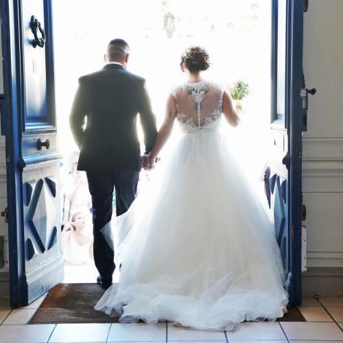 Les mariés en couleurs