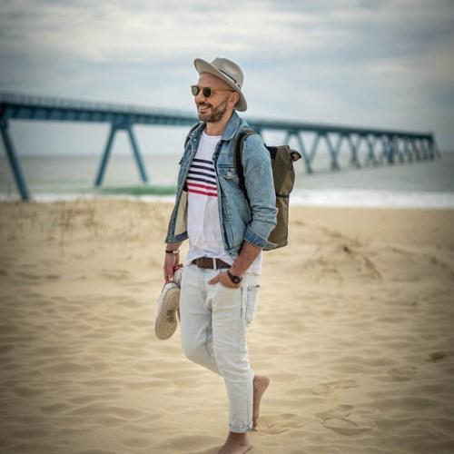 Portrait Farid sur le bassin France