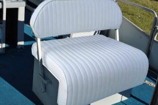 Flip Flop Seat Reupholstered