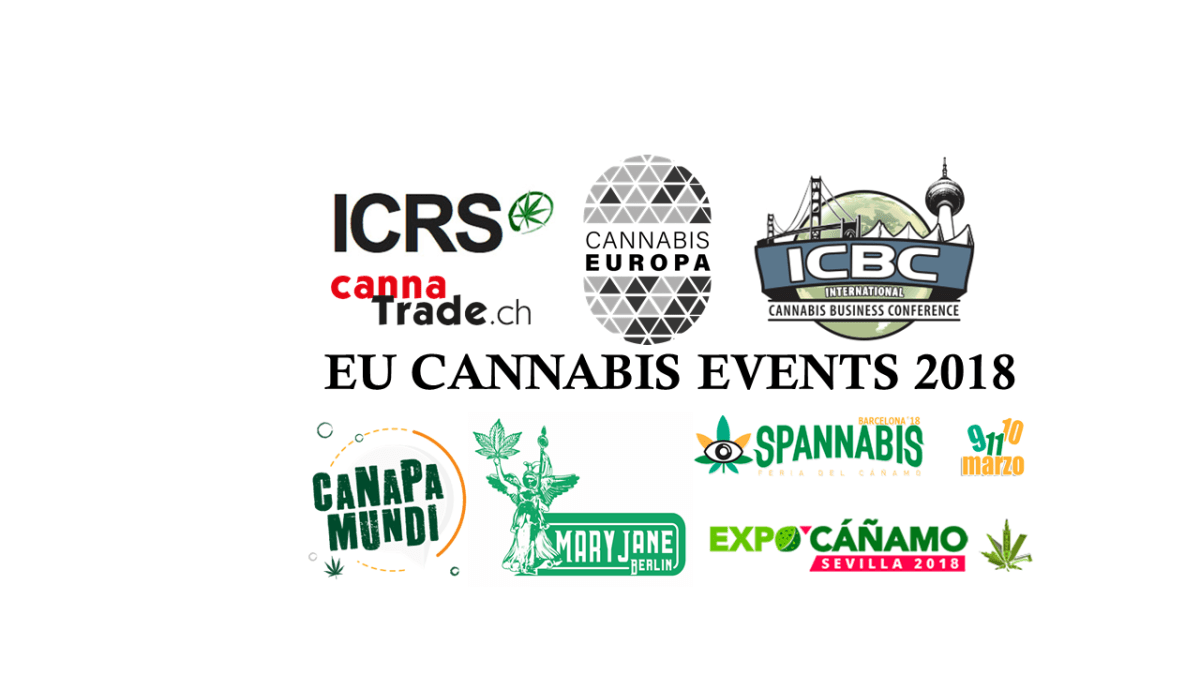 European Cannabis Events 2018