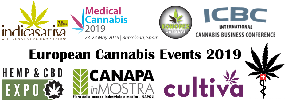 European Cannabis Events 2019