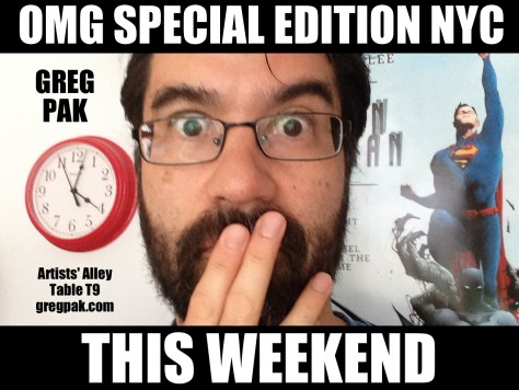 greg pak se nyc this weekend