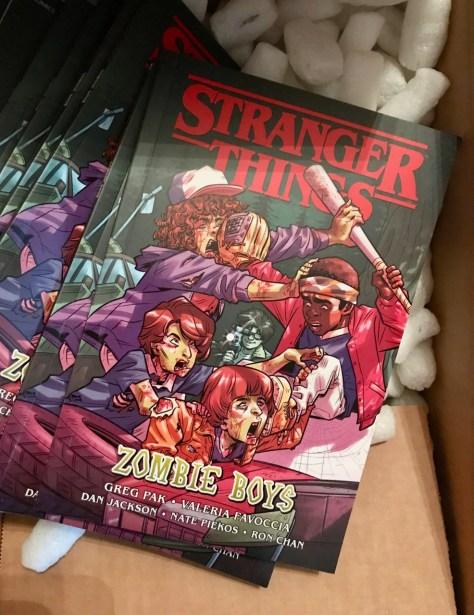Stranger Things Zombie Boys cover