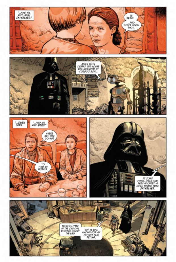 Darth Vader #1 preview page #2