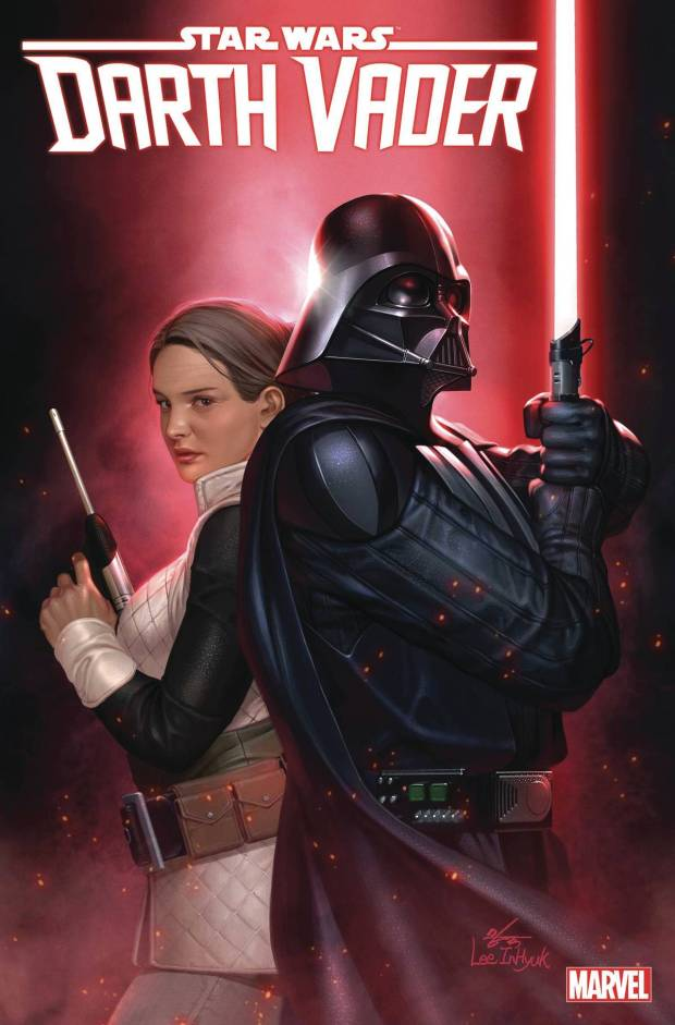 Darth Vader #3 cover by InHyuk Lee