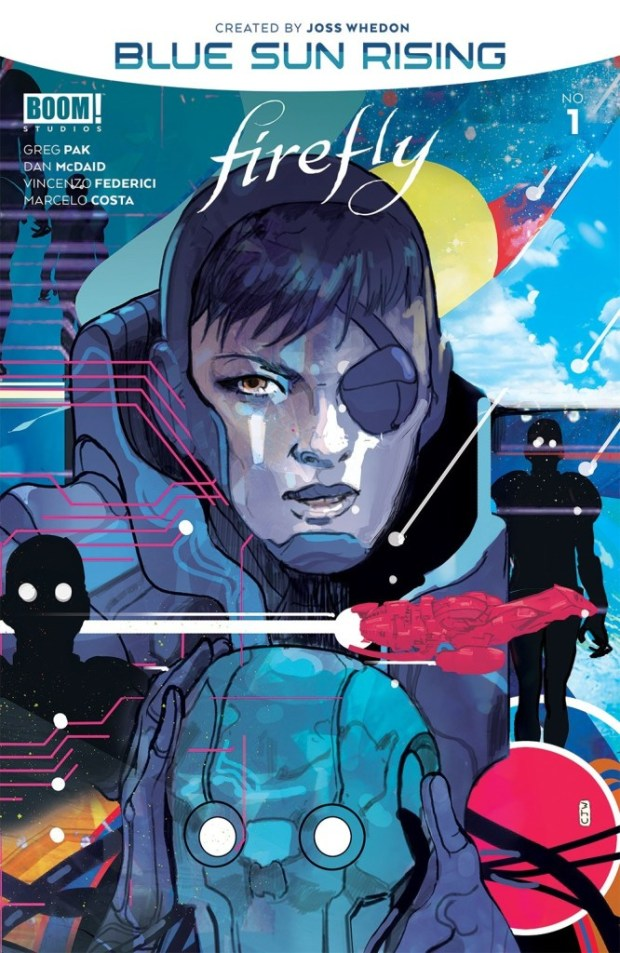Firefly Blue Sun Rising #1 cover
