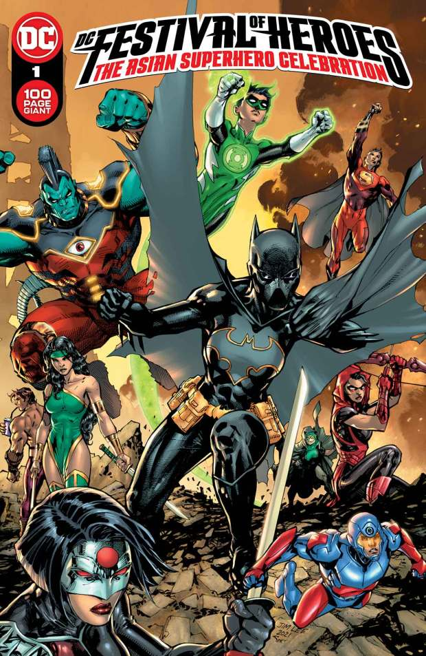 DC Festival of Heroes: The Asian Superhero Celebration, cover by Jim Lee