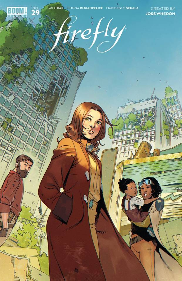 Firefly #29 cover by Bengal.