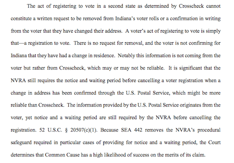 Indiana Preliminary Injunction