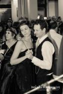 Dancing to Greg Poppleton and the Bakelite Broadcasters