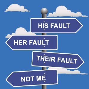 blame_signpost. His Fault, Her Fault, Their Fault, Not Me