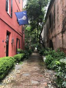 Everyone's ways are right in their own eyes - even this beautiful alley in Charleston, SC