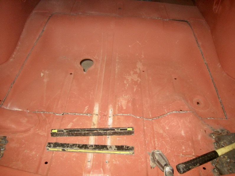Cut out for fuel tank