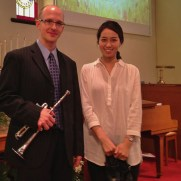 In 2015, Greg returned to Ashland Presbyterian Church for Easter, performing with organist Yeri Jang and the Ashland Chancel Chor.