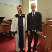 Greg returned to Ashland Presbyterian Church for Easter 2017, performing with organist Matthew Hart.