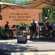 In June of 2018, Greg played piano at the Westminster Flower and Jazz Festival in a big band setting featuring arrangements from the Grammy-winning Charlie Parker tribute group Supersax.