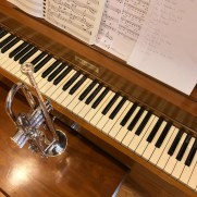 In the summer of 2018, Greg provided piano and trumpet music at Jesuits Colombiere for a gathering of retired Jesuit Priests.