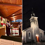 On Christmas Eve 2018, Greg returned to play trumpet at Saint Joseph Roman Catholic Church along with the Saint Joseph Schola, organist Lynn Trapp, and harpist Jasmine Hogan.