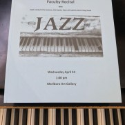 In the spring of 2019, Greg performed with the Prince George's Community College jazz faculty (Phil Ravita, bass; Keith Umbach, drums) in a concert featuring standards from the Great American Songbook.