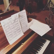 A summer rehearsal for the September 2019 debut recording of all original music by the Ravita-Grasso Band. The lineup for the project includes Benny Russell (sax), Greg Small (piano), Skip Grasso (guitar), Phil Ravita (bass), and Nucleo Vega (drums).