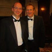 Trumpeter Chris Gekker joined Greg to perform trumpet-piano duos at a private event at the Mansion at Strathmore in 2013.