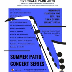 The University of Maryland, in conjunction with Riverdale Park Arts, sponsored a concert series in the summer of 2021 that trumpeter Chris Gekker and Greg were slated to play. Unfortunately, the concert was canceled due to inclement weather.
