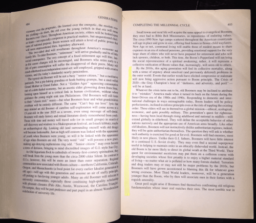 Excerpt from Generations by William Strauss and Neil Howe