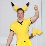 Greg Stevens as Pikachu for Halloween 2016